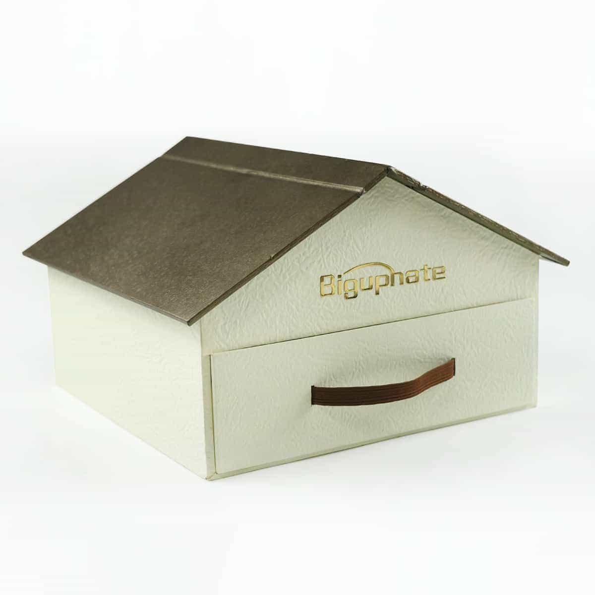 House shaped drawer box