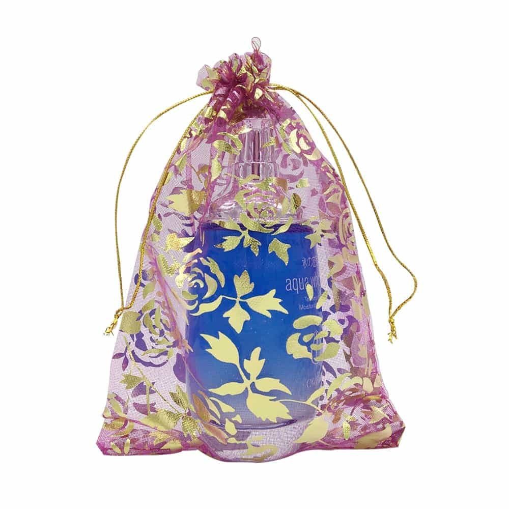 Transparent organza bag