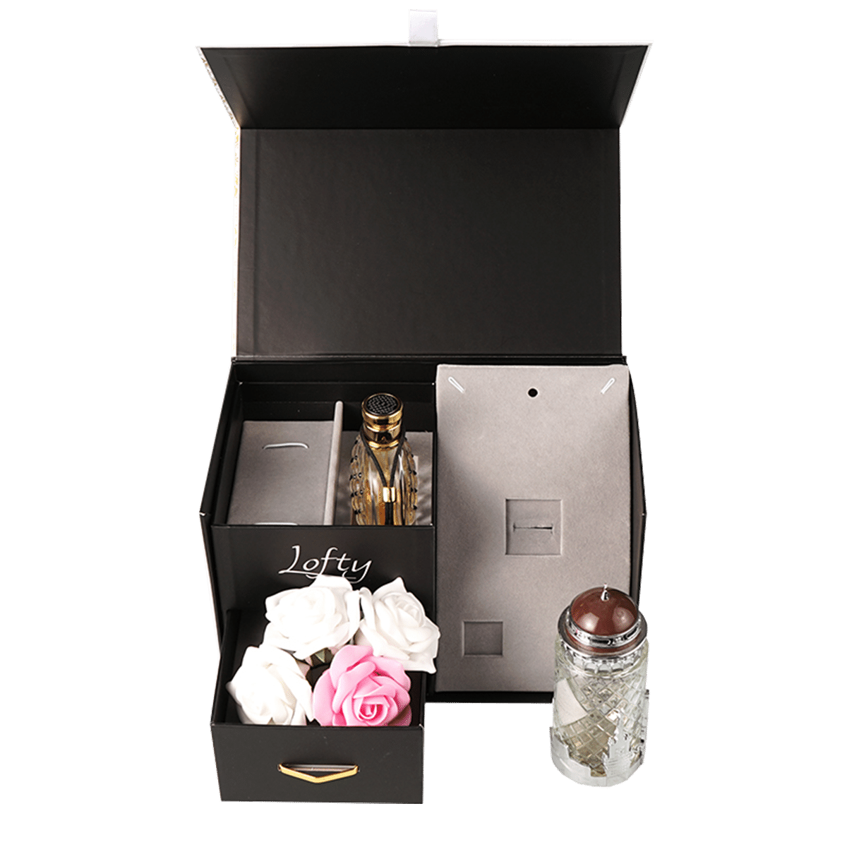 Black Jewelry Set Box